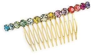 Swarovski Lelet Women's Rainbow Spectrum Crystal Comb