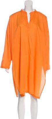 eskandar Oversize Long Sleeve Dress
