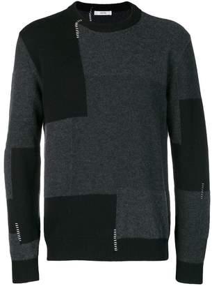 Mauro Grifoni colour-block sweater