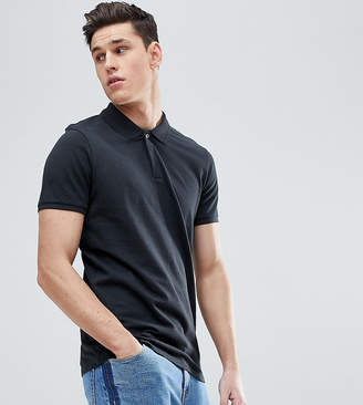 Selected TALL Polo With Concealed Placket