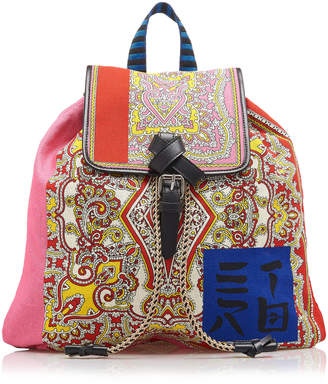 Etro Woven Backpack