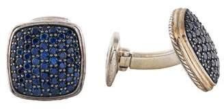 David Yurman Sapphire Cufflinks