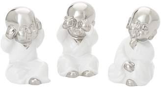 Torre & Tagus See Hear Speak No Evil Wise Buddha Babies Figures (Set of 3)