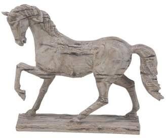 Loon Peak Beaudette Rustic Distressed Standing Horse Figurine