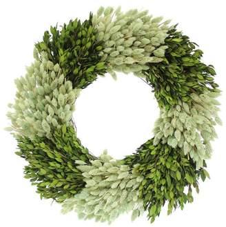 Floral Treasure Myrtle and Phalaris Wreath