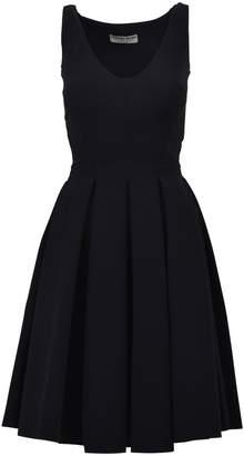 Chiara Boni La Petit Robe Di Midi Pleated Dress Black