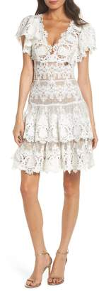 Bronx AND BANCO Beverly Lace Fit & Flare Dress