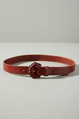 Anthropologie Geometric Buckle Belt