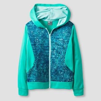 C9 Champion® Girls' Tech Fleece Hoodie Green $19.99 thestylecure.com