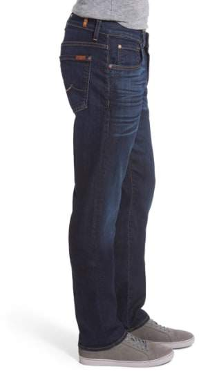 7 For All Mankind The Straight Airweft Slim Straight Leg Jeans