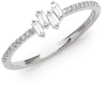 KC Designs Women's Mosaic 14K White Diamond and 14K Gold Ring
