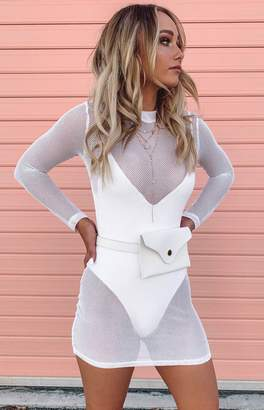 TOMORROWLAND Bb Exclusive Mesh Dress White