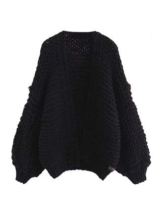 Goodnight Macaroon 'Berti' Chunky Knit Open Cardigan (5 Colors)
