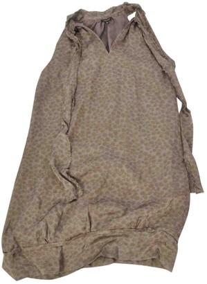 Tocca Ecru Silk Dress for Women