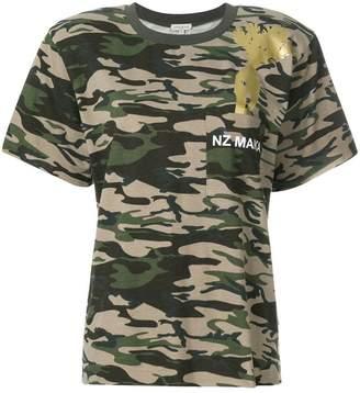 Natasha Zinko camouflage T-shirt