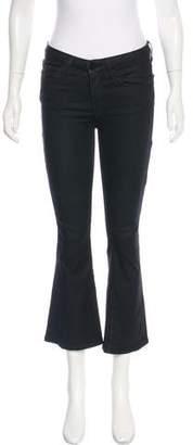 Frame Mid-Rise Flared-Leg Jeans