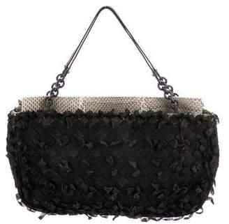 Bottega Veneta Woven Intrecciato Handle Bag