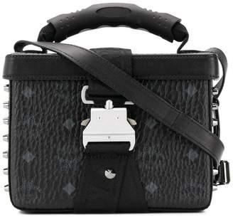 MCM studded tote bag