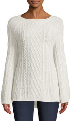 Neiman Marcus Gray Pullover Womens Sweaters Shopstyle