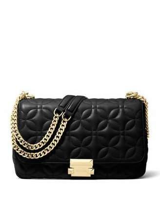 MICHAEL Michael Kors Sloan Large Quilted Leather Chain Shoulder Bag