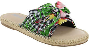 Mia Shoes Flat Slide Sandals - Brenda