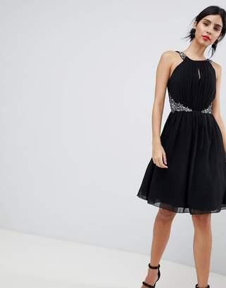 Little Mistress Keyhole Jewel Prom Dress