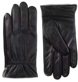 Isotoner smarTouch Leather Quilted Glove