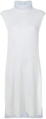 Agnona long-line sleeveless rib knit sweater