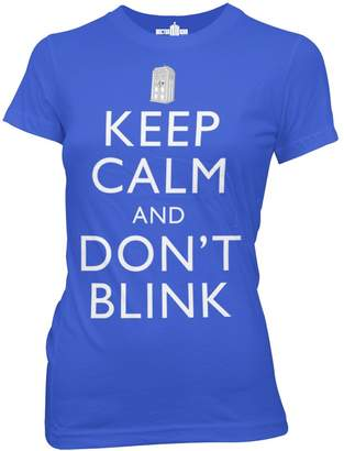 Ripple Junction Doctor Who Keep Calm and Don't Blink Junior T-Shirt XL