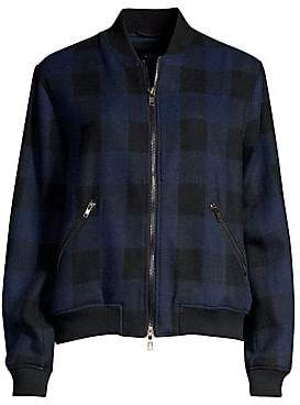 Rails Women's Bolton Buffalo Check Bomber Jacket