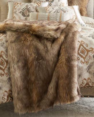 Dian Austin Couture Home Carte Le Blanche Faux-Fur Throw e0e73e239