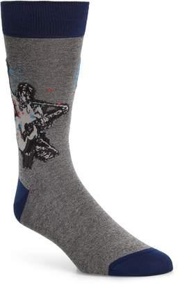 Bugatchi Guitarist Socks