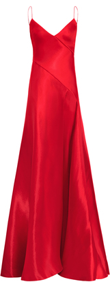 Ralph Lauren Adelle Fit And Flare Gown