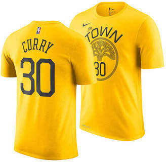 Nike Men Stephen Curry Golden State Warriors Earned Edition Player T-Shirt