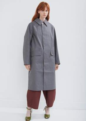 MACKINTOSH Rubberised Big Collar Horse Riding Coat