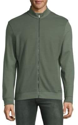 HUGO BOSS Skiles Zip-Front Sweatshirt