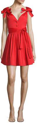 Alexis Women's Kelisi Bow Fit-&-Flare Dress