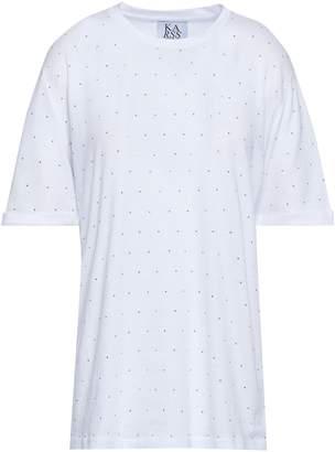 Zoe Karssen 装飾付き コットン混 ジャージー Tシャツ
