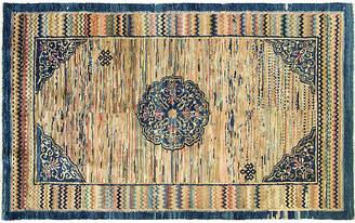 """One Kings Lane Vintage 3'8"""" x 6'1"""" Antique Chinese Carpet - Eli Peer Oriental Rugs"""