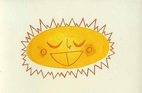 Matte Stephens Happy Sun - Print