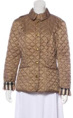 Burberry Lightweight Quilted Jacket