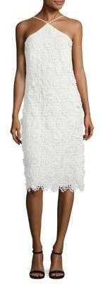 Trina Turk Conga Lace Halter Dress