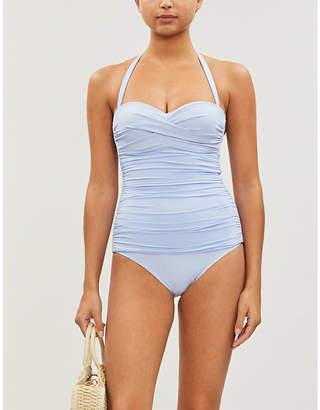 Heidi Klein Body Light ruched bandeau swimsuit