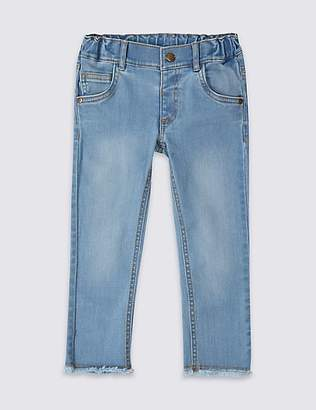 Marks and Spencer Cotton Jeans with Stretch (3 Months - 7 Years)