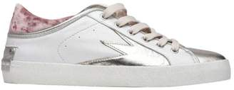 Crime London White/silver Faith Lo Sneakers