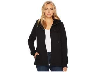 Volcom Blacked Out Zip Women's Coat