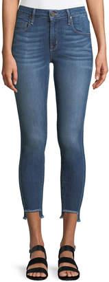 Parker Smith Side-Stripe Twisted-Seam Skinny Jeans