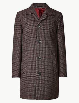 Limited Edition Overcoat with Wool