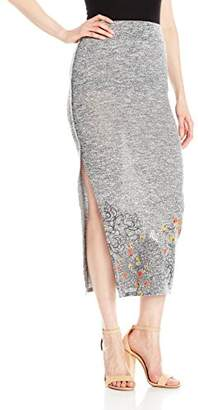 Desigual Women's Luca Knitted Long Skirt
