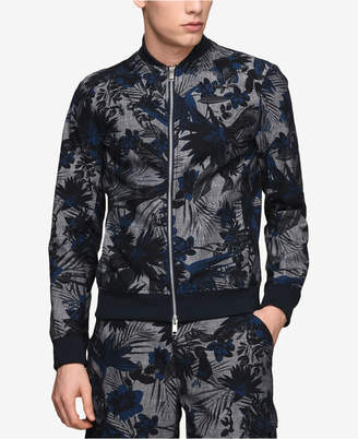 Armani Exchange Men's Printed Bomber Jacket